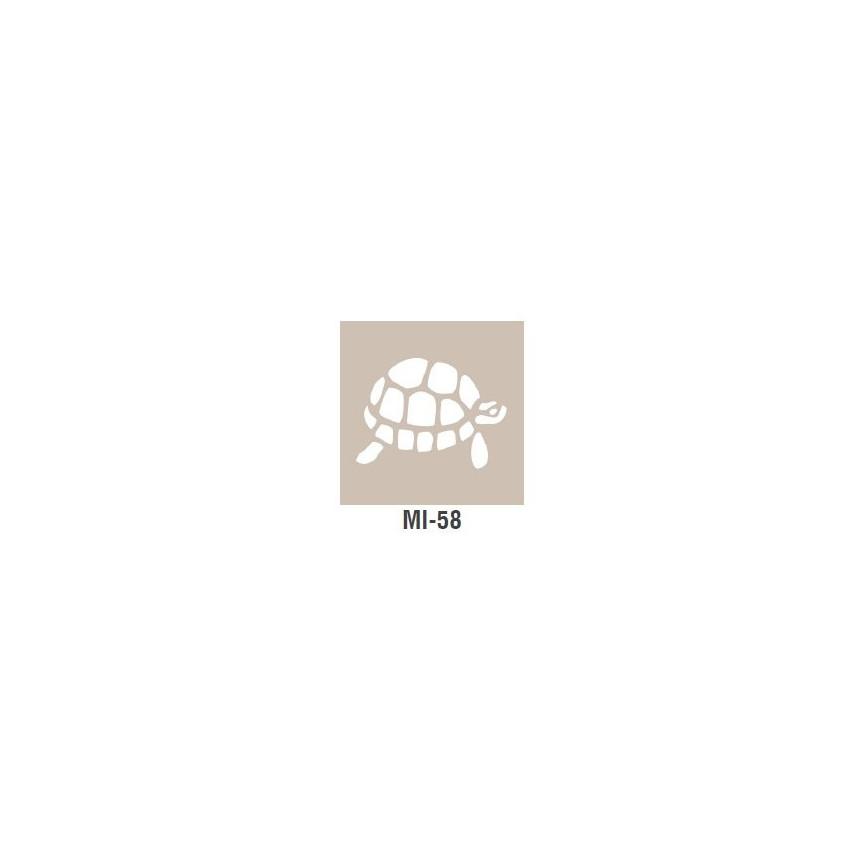 ŻÓŁW szablon mały - 7 x 10cm