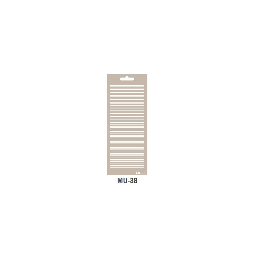 PASKI szablon długi 10x25cm