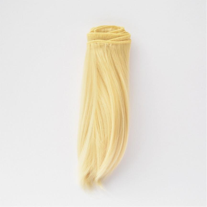 LODOWY BLOND Podwinięte 15cm Włosy do Lalek